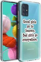 Husa Samsung A71 - Silicon Matte - Good girls 1