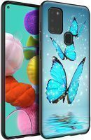 Husa Samsung Galaxy A21S - Silicon Matte TPU Butterfly 1