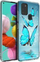 Husa Samsung Galaxy A21S - Silicon Matte TPU Butterfly 2