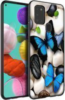 Husa Samsung Galaxy A21S - Silicon Matte TPU Butterfly 3