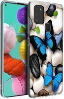 Husa Samsung Galaxy A21S - Silicon Matte TPU Butterfly 4