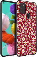Husa Samsung Galaxy A21S - Silicon Matte TPU Flowers 2