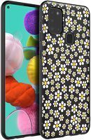 Husa Samsung Galaxy A21S - Silicon Matte TPU Flowers 3