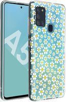 Husa Samsung Galaxy A21S - Silicon Matte TPU Flowers 4