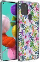 Husa Samsung Galaxy A21S - Silicon Matte TPU Flowers 5