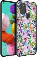 Husa Samsung Galaxy A21S - Silicon Matte TPU Flowers 6