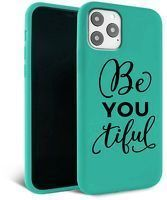 Husa iPhone 11 Pro Max- Silicon Matte - Be you