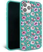 Husa iPhone 11 - Silicon Matte - Butterfly
