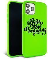 Husa iPhone 11 - Silicon Matte - Dreaming 2