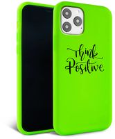 Husa iPhone 11 - Silicon Matte - Think Positive 1