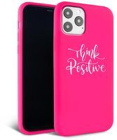 Husa iPhone 11 - Silicon Matte - Think Positive 2