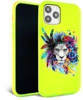Husa iPhone 11 Pro Max- Silicon Matte - Lion King