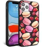 Husa iPhone 11 Pro Max- Silicon Matte - Macarons