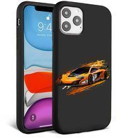 Husa iPhone 11 Pro Max- Silicon Matte - Racing car