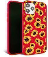 Husa iPhone 11 Pro Max- Silicon Matte - Sunflowers