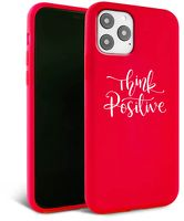Husa iPhone 11 Pro Max- Silicon Matte - Think Positive 2