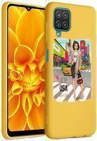 Husa Samsung Galaxy A12 - Silicon Matte - From USA With Love